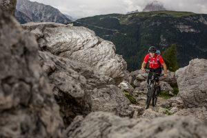 Dominik Raab macht Fotos für Merida Bikes in Italien