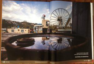 Eine Doppelseite von Dominik Raab im Five Ten Katalog