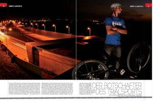 Ein Bericht über Dominik im Radsportszene Magazin