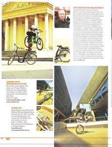 Dominik Raab mit einem Bericht im Velosophie Magazin