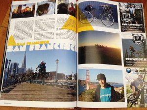 Dominik Raab bringt Bildmaterial aus Kalifornien mit und dieses wird im 6undzwanzig Magazin gedruckt