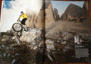 Dominik Raab hat ein Foto von den Dolomiten im Freeride Magazine