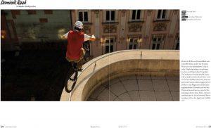 Trial Show und Tricks von Dominik Raab im Pedaliero Magazinm Pedali