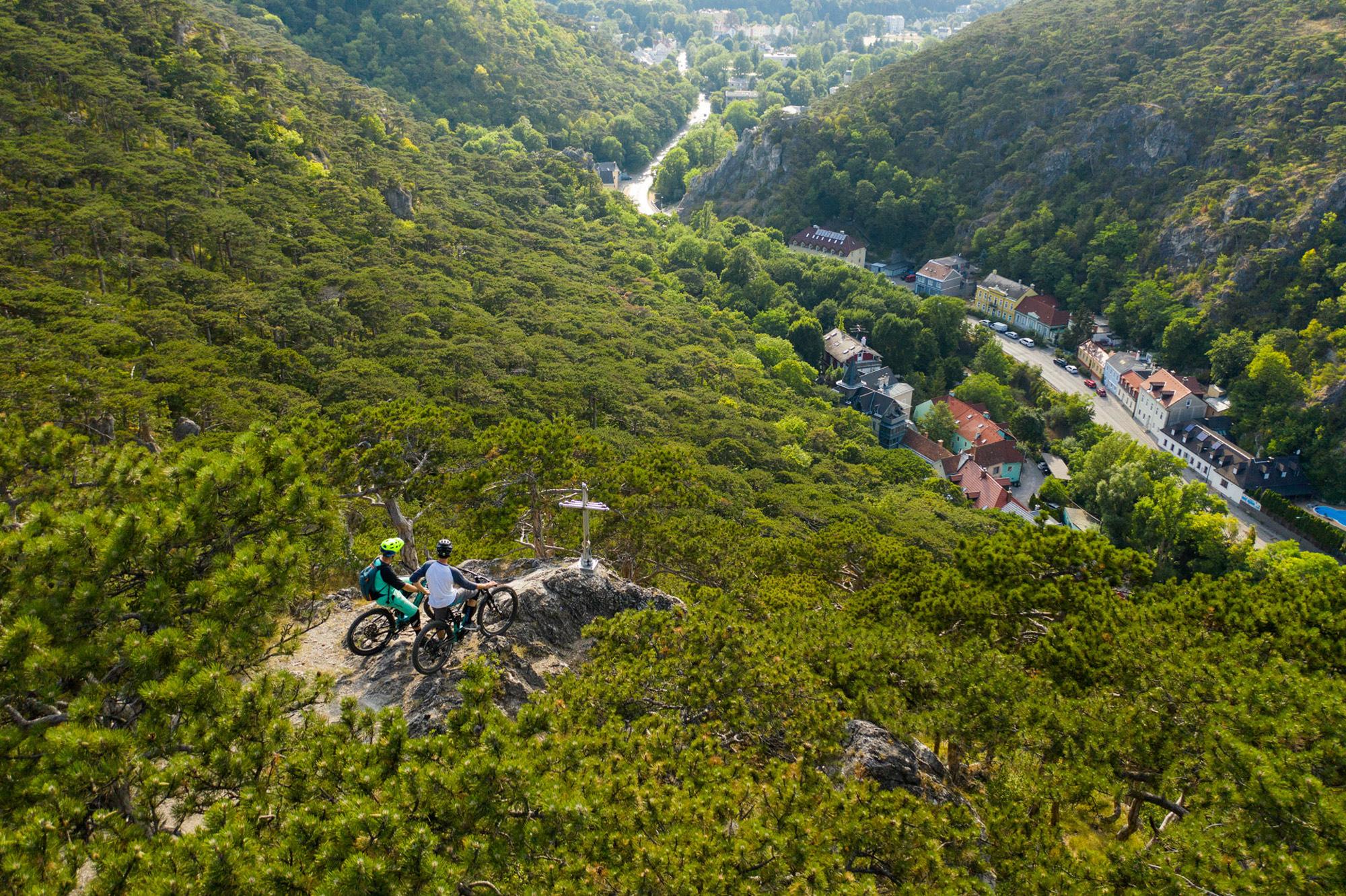 Mödling bietet Dominik Raab einen schönen Ausblick
