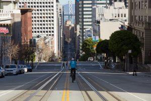 Dominik Raab macht Fotos in San Francisco